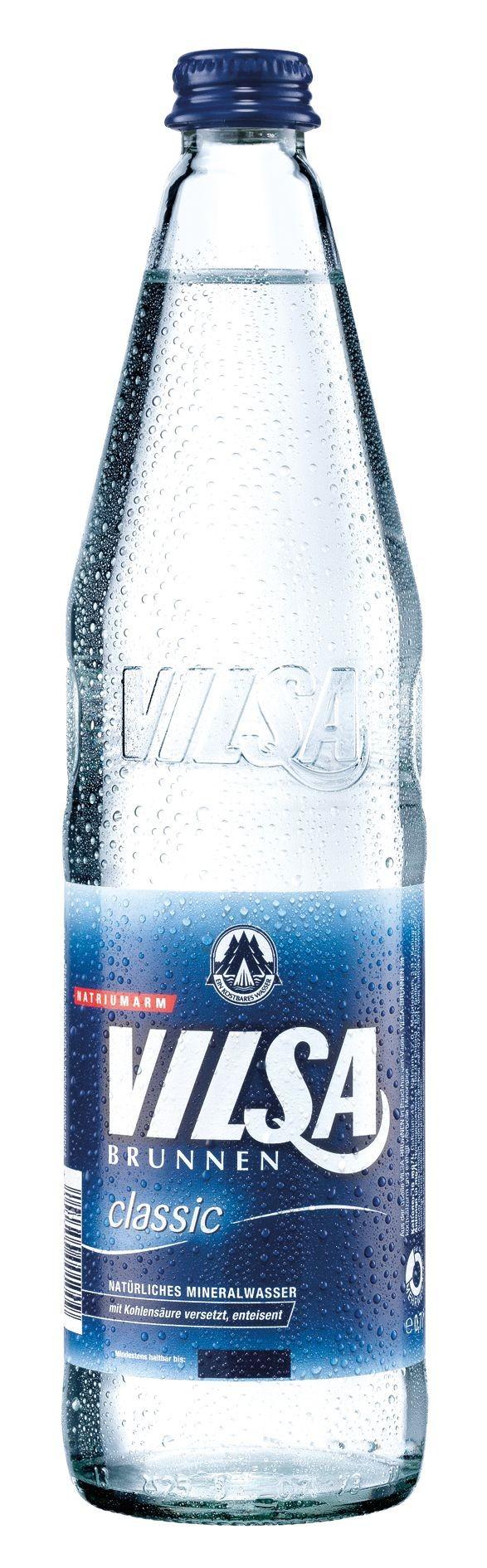 Vilsa Classic 12x0,7 Glasflasche
