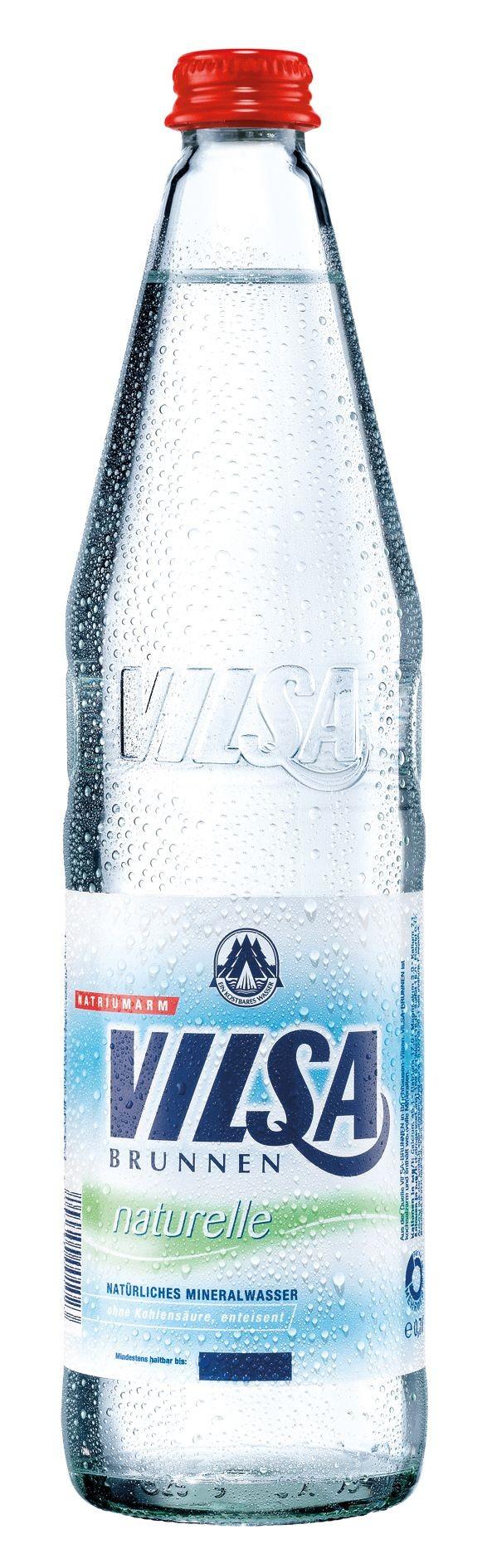 Vilsa Naturelle 12x0,7 Glasflasche
