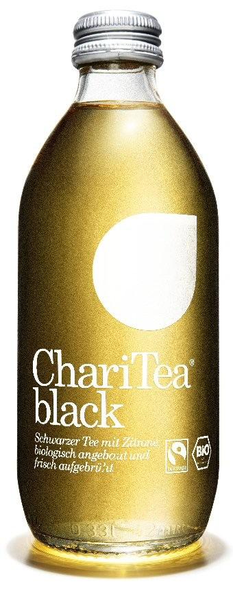 ChariTea black 0,33 l.