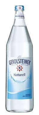 Gerolsteiner Naturell 6 x 1 L. Glasflasche